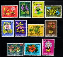 Sierra Leone MH Scott #300-#305, #C37-#C41 Set Of 11 Margai, Churchill Overprints 1965 - Sierra Leone (1961-...)