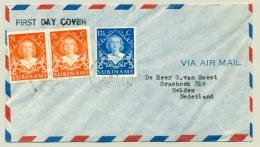 Suriname - 1948 - Inhuldiging Juliana Overcompleet 1e Dag Naar Helden / Nederland - Suriname ... - 1975