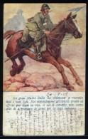 B  7/3   WWI 1917 POSTA MILITARE MITRAGLIERI FIAT VERIFICA CENSURA 36° BATTAGLIONE CONTE  GIACOBAZZI SASSUOLO MODENA - 1900-44 Victor Emmanuel III