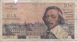 Billet De 10 Francs Richelieu - 1959-1966 Nouveaux Francs