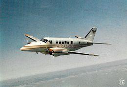 AVION AVIATION  AVION HELICES BI-MOTEURS AIR ALPES BEECHCRAFT 99 LIAISONS REGIONALES ED. P.I - 1946-....: Moderne