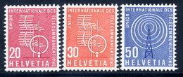 SWITZERLAND: ITU 1960 New Definitive Values MNH / **.  Michel 7-9 - Officials