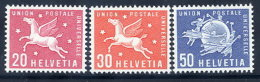 SWITZERLAND: UPU 1960 New Definitive Values MNH / **.  Michel 7-9 - Officials