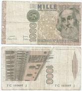 Italia - Italy 1.000 Lire 1982 Pick 109.a Ref 1152 - [ 2] 1946-… : República