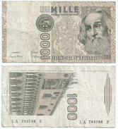 Italia - Italy 1.000 Lire 1982 Pick 109.a Ref 1153 - [ 2] 1946-… : República