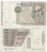 Italia - Italy 1.000 Lire 1982 Pick 109.a Ref 1157 - [ 2] 1946-… : República