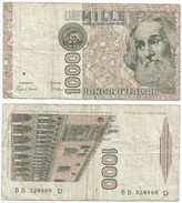 Italia - Italy 1.000 Lire 1982 Pick 109.a Ref 1144 - [ 2] 1946-… : República