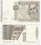 Italia - Italy 1.000 Lire 1982 Pick 109.b Ref 1145 - [ 2] 1946-… : República