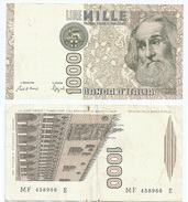 Italia - Italy 1.000 Lire 1982 Pick 109.b Ref 1146 - [ 2] 1946-… : República