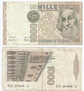 Italia - Italy 1.000 Lire 1982 Pick 109.b Ref 1158 - [ 2] 1946-… : República