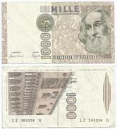 Italia - Italy 1.000 Lire 1982 Pick 109.b Ref 1160 - [ 2] 1946-… : República