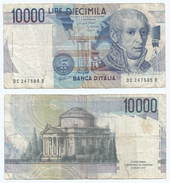 Italia - Italy 10.000 Lire 1984 Pick 112.b Ref 1162 - [ 2] 1946-… : República