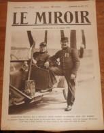 LE MIROIR. N° 40. Dimanche 30 Août 1914. Les Hordes Allemandes Dévastent La Belgique. Exode Des Paysans Belges. - 1900 - 1949