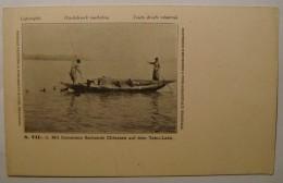 China.Tahu-Lake.Mit Comorans Fischende Chinesen. - China