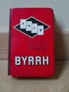 Ancien Jeu De Cartes Publicitaire Byrrh Avec Boite En Tôle Alcool Vin Aromatisé - 32 Cards