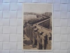 C P A ANIMEE  ST MALO LES REMPARTS ET LA PORTE ST VINCENT CIRCULEE 1942 - Saint Malo