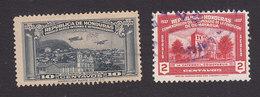 Honduras, Scott #C78, C85, Used, Tegucigalpa, Comayagua Cathedral, Issued 1935, 1937 - Honduras