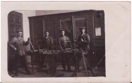 WOENSEL EINDHOVEN METAALBEWERKING FOTOKAART 1910 R 513  Staat ! Gelopen Zegel 1 Cent - Eindhoven