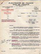 VP6345 - Lettre - Electricité De France - Gaz De France à LIMOGES - Electricity & Gas