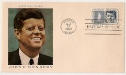 JOHN F. KENNEDY, BOSTON MASS. 1964. Lot 2. - Event Covers