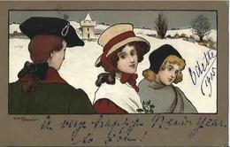 CPA Précurseur 1904 Illustrateur VIENNE N° 191 De ETHEL PAARKINSON - Parkinson, Ethel