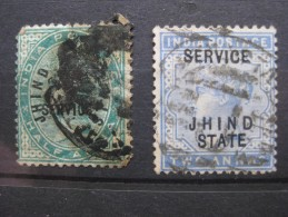 Timbres Inde : Jhind 1885 - Jhind