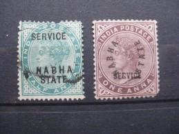 Timbres Inde : Nabha 1885 (deuxième Choix) - Nabha