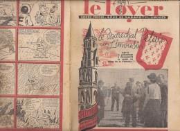 LE FOYER 13 JU8ILLET 1941 LE MARECHAL PETAIN EN LIMOUSIN A ST LEONARD CAMP DE VALMATE PAT APOUF DETECTIVE 36 - Non Classificati