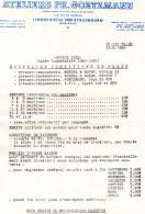 Prospectus De Remise  'des Ateliers Ph. Goetzmann(bas-rhin) - Agriculture