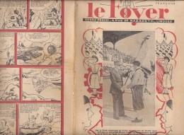 LE FOYER 20 JUILLET 1941 LE MARECHAL PETAIN DRAPEAU CHANTIER DE JEUNESSE  PAT APOUF DETECTIVE 36 - Non Classificati