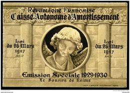 Carnet De 8 Timbres Sourire De Reims - Sinking Fund
