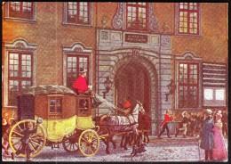 Denmark  Copenhagen 1963 / Post And Telegraph Museum / Coach / International Post Correspondence Club - Musées