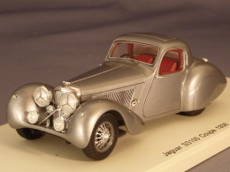 Spark 2125, Jaguar SS100 Coupé, 1938, 1:43 - Spark