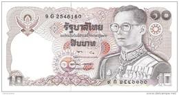 Thailand - Pick 87 - 10 Baht 1980 - Unc - Tailandia