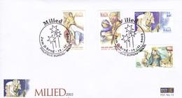 Malta, FDC N°.13 . 12.11.2003. Christmas - Christianisme