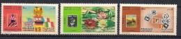 Sharjah 1970 Flower Show, World Cup, Int. Stamp Exhibition  Mi 644, 645, 649  , MNH(**) - Sharjah