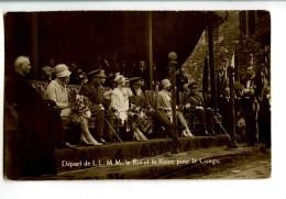 A 18735   -   Anvers  -  Départ De  L.L.  M.M.  Le Roi Et La Reine Pour Le Congo - Royal Families