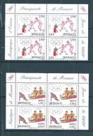 Monaco  De 2000  N°2261/62  En Coin Daté Neufs ** - Unused Stamps