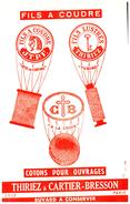 F T/Buvard  Fils A Coudre Thiriez (N= 1) - Buvards, Protège-cahiers Illustrés