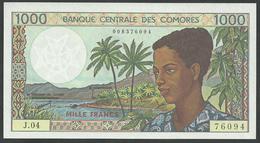 #07. COMOROS. 1000 FRANCS. 1994. Pick 11b. UNC/NEUF. - Comores