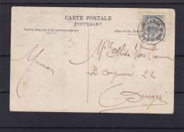 Carte Du DEPOT RELAIS DE * HAN SUR LESSE * - 1893-1907 Coat Of Arms