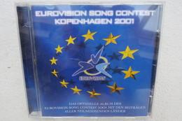 """CD """"Eurovision Song Contest 2001"""" Das Offizielle Album Des Eurovision Song Contest Mit Den Beiträgen Aller Länder - Musik & Instrumente"""