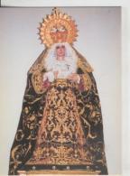 Postal 008704: Virgen Ntra Sra De La Soledad, Iglesia De San Bernardo De Alcala De Henares, Madrid - Sin Clasificación