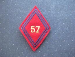 Insigne Du 57 ème Régiment D'artillerie - Ecussons Tissu
