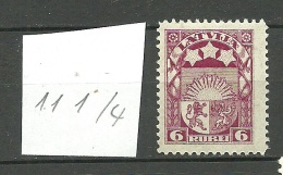 LETTLAND Latvia 1922 Michel 82 * - Letland