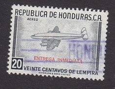 Honduras, Scott #CE2, Used, Transport Plane,  Issued 1956 - Honduras