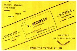H H J M/Buvard  Horlogerie J Morele (N= 1) - Buvards, Protège-cahiers Illustrés