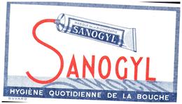 Buvard  Hygienne Dentifrice Sanogyl - Blotters