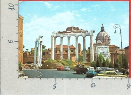 CARTOLINA VG ITALIA - ROMA - Tempio Di Saturno - 10 X 15 - ANN. 19?? - Otros Monumentos Y Edificios