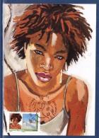 = Journée De La Femme 8 Mars, Blessing, Nigéria, N°282 Autoadhésif Paris 9.3.09 Issu Du Carnet BC274 - Maximum Cards